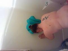 Unaware Wife Krissi Hidden Shower Sex Compilation