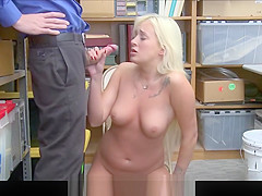 Thick Blonde Latina Girl With A Big Ass Daisy Lee Caught Sho