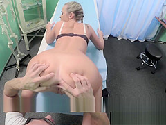 European assfucked patients voyeur creampie