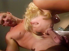 Sexy Blonde Gets Fucked And Takes A Load On Her Face