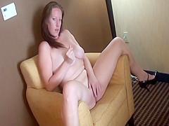 Amateur Chubby Megan Knight Finger Fucks Herself