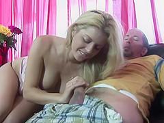 Lovesome Blonde Cunt Kodi Shows Her Cream Pied Cunt