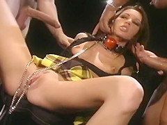 Taylor Rain Gets Kinky And Takes Two Cocks