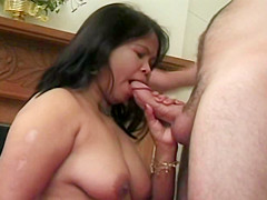 Mature Chubby Asian Spreads For A Deep Fucking
