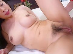 Exotic Spinner Jade Kush finds Peeper! So she Sucks and Fucks Him.