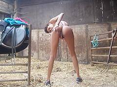 Naughty Pussy Play At Granpa's Farm