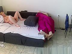 Hidden Cam at home,masturbation