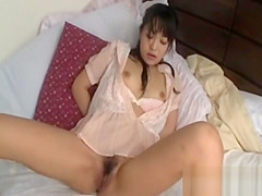 Japanese Cutie Gets Fucked By Fingers And Vibrator