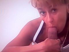 Dick sucking on hidden camera!