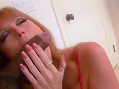 Hot Redhead Milf's Pussy And Asshole Gape From Cock