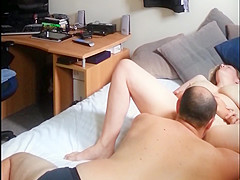 pussy licking and some big dick fucking