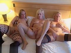 Mature lesbian voyeur girls fingering and pussy pleasuring o