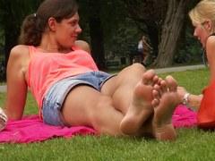 Soles Voyer in Park two