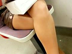 Hose Legs Voyer in Teach