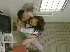 Asian model has hot public sex part5