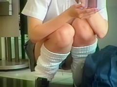 Uniform Pretty Teens Panty Upskirt