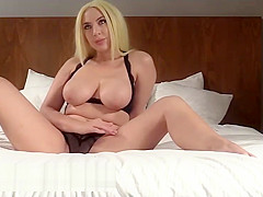 Latina stepmother wait for hard fucked creampie