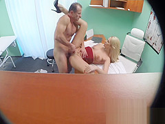Fakehospital new nurse takes double cumshot from gorgeous dr