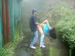 Shameless Desi Girl Got Fucked By Her BF In Backyard