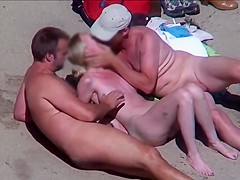 Horny Couples Fuck Fest Nude Beach Recorded By Voyeur