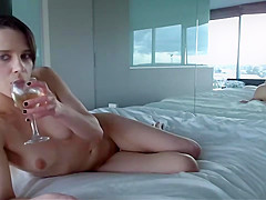 Spying on My Naked Teen Sister Live