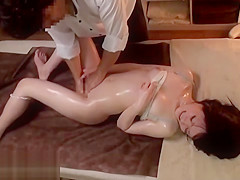 Japanese massage with cute 18yo goes wrong