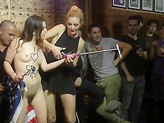 American tourist banged in Euro club