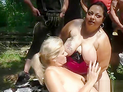 german outdoor orgy with bbw girls on GotPorn (9517278)