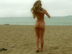 Sand Feels So Good - Olivia Preston - Art modeling with Matthew