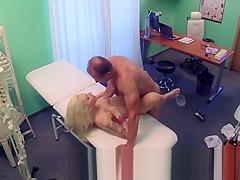Tattooed Blonde Loves Doctors Dick Starring Vanessa Sweet