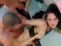 Kinky girls get totally foolish and naked at hardcore party