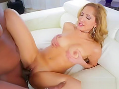Busty and super horny Chloe gets fucked