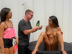 Nicole Bexley and friend have 3way