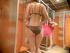 Video peeping in the womens shower10230