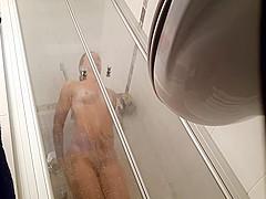 Hidden Cam Shower 10