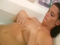 Babe Films Herself Naked in the Bathroom