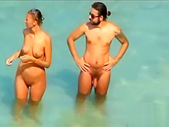 Nude Beach - Hot Loving Couple