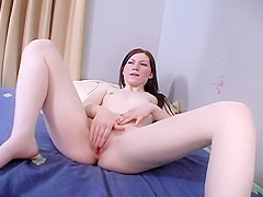 Pale Redhead Slut And A Co-worker Fuck In The Office