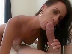 Big tits Mandy Haze gicves blowjob and fucks on POV
