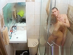 SEX IN BATHROOM \ SHOWER TELOSHOW HIDDEN CAMERA - ABIGAIL & SAM | RealLife