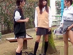 Teenage asian hos pee in handbag