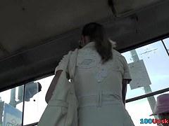 Darksome strap panty up white petticoat