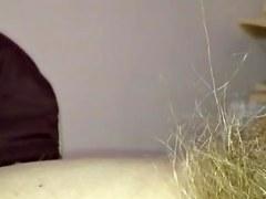 lengthy wild hirsute muff, unshaved pitt & large wobblers.