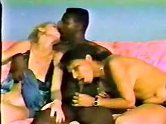 Back-In-The-Day Non-Professional Interracial Fuckfest