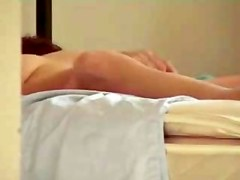 Masturbating in couch