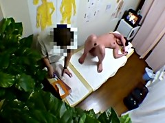 Hidden Camera In Clinic Massage Room