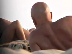 two Couples Caught by Voyeur in the Dunes (Cap d'Agde, France)