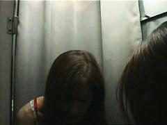 Hot asian chick hidden dressing room video