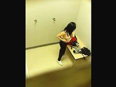 Hot amateur chicks voyeur dress room video