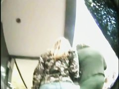 Extremely alluring video of some juicy fannies in a mall